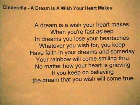 a dream is a wish your heart makes tattoo cinderella a is a wish your makes