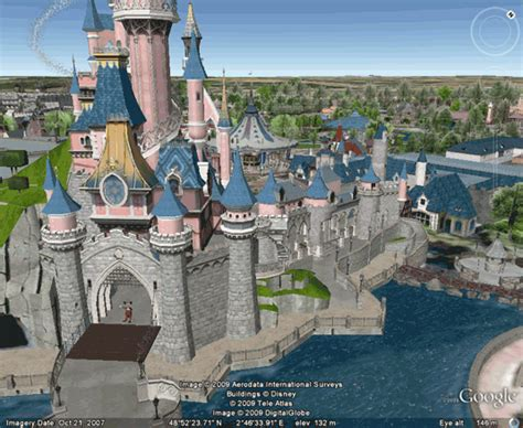 Home Design Software Autodesk take a 3d virtual tour of disneyland via google earth