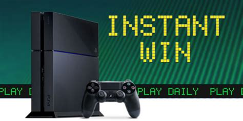 Shop Your Way Rewards Instant Win - shop your way playstation instant win game iwg