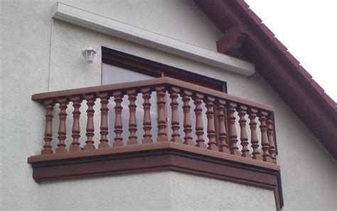 Terrassen Sichtschutz Kunststoff 296 by Baluster Aus Kunststoff In Wei 223