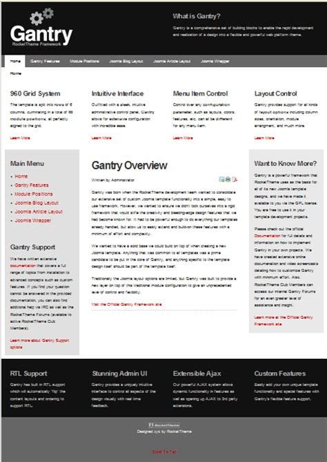joomla themes gantry how to use the gantry framework for joomla