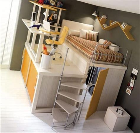 cool teen beds 1000 ideas about desk under bed on pinterest full bed
