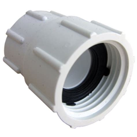 Garden Hose To Pvc by Lasco 15 1637 Pvc Swivel Hose Adapter With 3 4 Inch