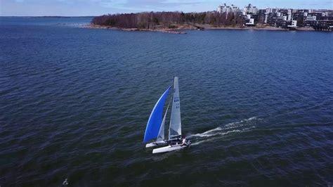 catamaran sailing youtube formula 18 catamaran sailing youtube