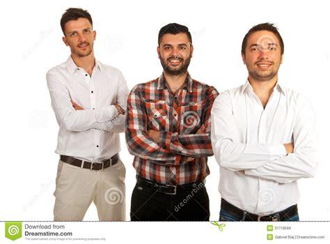 imagenes hombres felices tres hombres de negocios casuales felices im 225 genes de