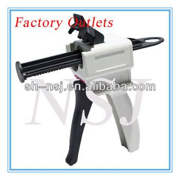 corian joint glue gun for corian joint adhesive in 50ml 10 1 cartridge