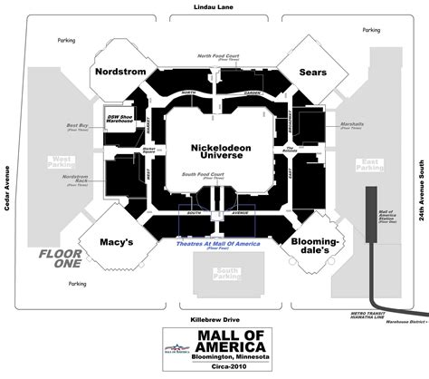 mall of america floor plan the shopping mall museum