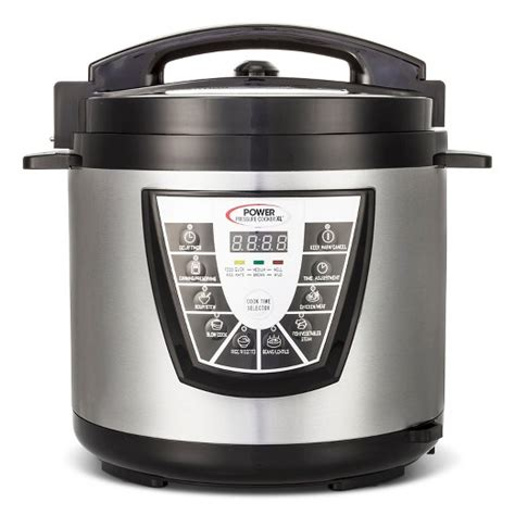 the power pressure cooker xl as seen on tv 174 power pressure cooker xl 8 qt target