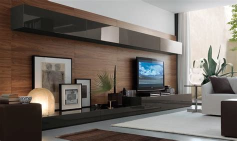 Living Room Entertainment Wall Units Modern Wall Units
