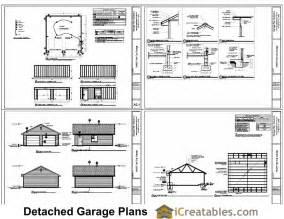 Free 2 Car Garage Plans by 24x24 Garage Plans 2 Car Garage Plans 2 Doors