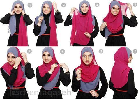 tutorial pakai niqab shawl hijab tutorial sweet hijab styles pinterest