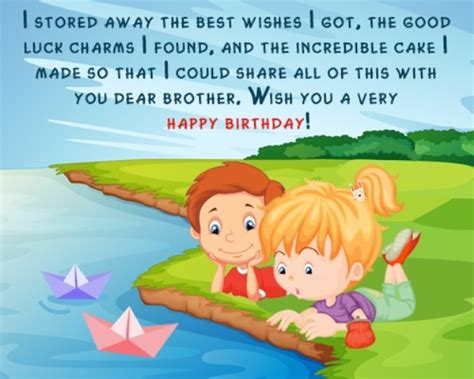 Happy Birthday Younger Wishes Birthday Wishes For Brother Page 6