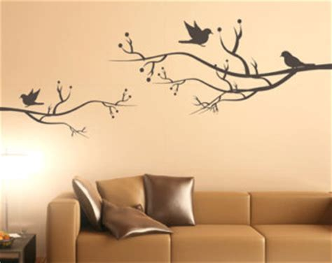 Modern Wall Stickers For Living Room by Tree Wall Decal Etsy