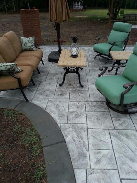 concrete patio nc sted concrete patios gc construction services inc