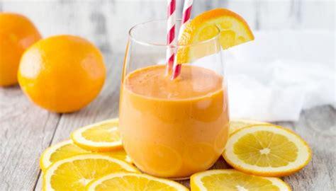 smoothie jeruk pendamping  cocok  sajian daging