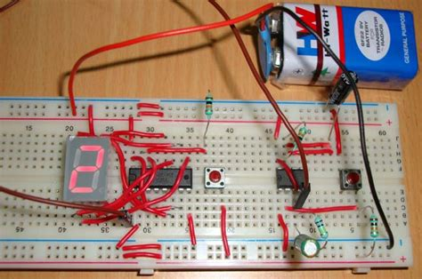 how to put a timer on a light switch 7 segment display counter circuit ic 555 timer ic