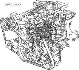 dodge caravan 3 3l engine diagram get free image about