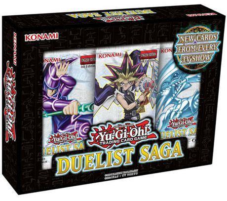 yu gi oh 2017 duelist saga box trading cards