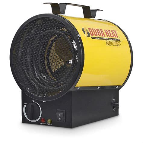 l btu output dura heat electric forced air heater 240 volt 17 000 btu