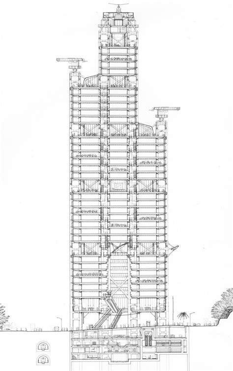 lippo section 1000 images about architectural drawings on pinterest