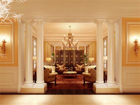 elegant life elegant living room 3d model max cgtrader com
