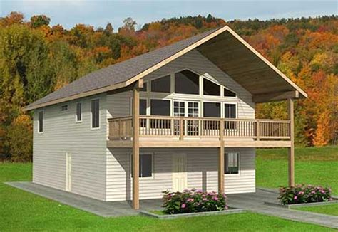 mountain vacation home plans plan w35361gh carriage garage vacation metric