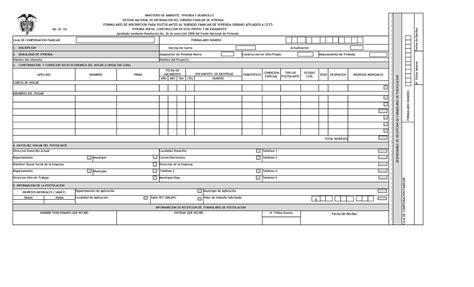 formulario para mantener los subsidios de luz gas y agua formulario para subcidio de luz calam 233 o formulario de