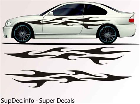 Auto Body Decals by Vinyl Auto Body Graphics Exterior Outside Decal Sticker B739
