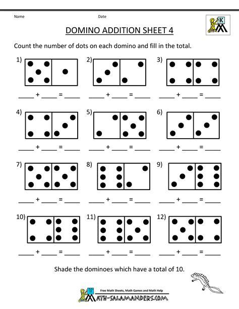 printable addition games for kindergarten kindergarten math addition worksheets worksheets