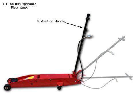 ton air hydraulic floor jack gses