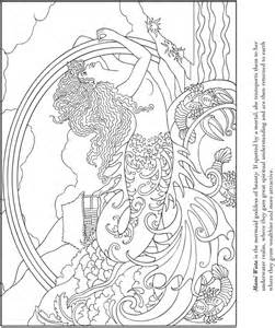 coloring books mermaids welcome to dover publications