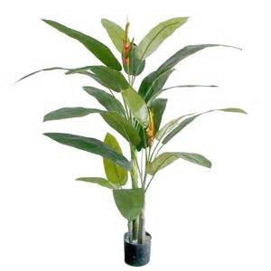 artificial heliconia plant stunning exotic fake plant