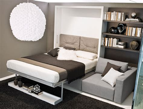 sofa murphy beds transformable murphy bed over sofa systems that save up on