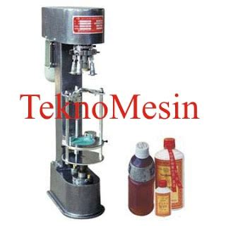 Mesin Segel Capping mesin pengemas makanan dan cup sealer alat segel tutup botol bottle capping machine dk 50