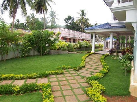 house design with garden the angular offsets house at ayyet tanjore