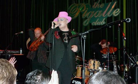Boy George Showcase At The Pigalle Club In by W Editor At Large Wallpaper