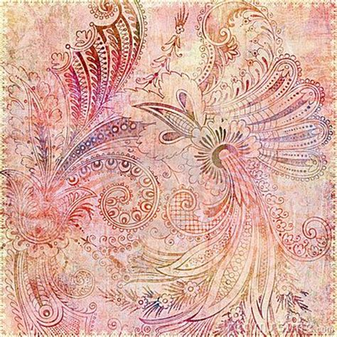 gypsy pattern tumblr bohemian flowers pastel pattern and vintage gypsy on