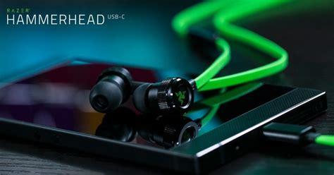 Jual Headset Razer Hammerhead razer outs new hammerhead usb c earbuds to match the razer phone windows central