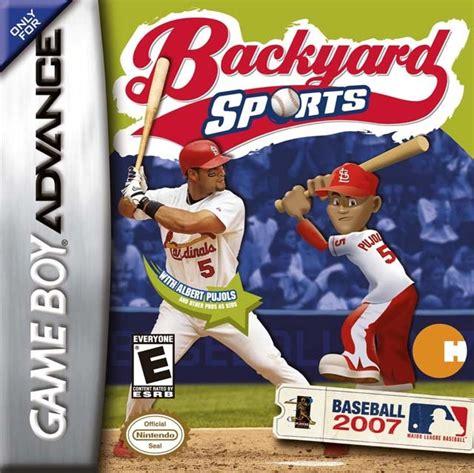 Backyard Baseball Gba Backyard Baseball 2007 Sur Gameboy Advance Jeuxvideo