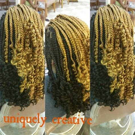 box braids with curly ends 12 best curly single braids images on pinterest single