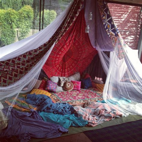 bedroom tent ideas bohemian tent hideaway spaces pinterest backyards