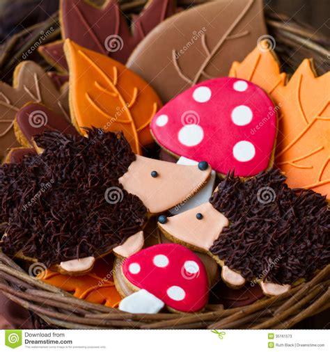 Hedgehog Decorated Cookie Cookie Decorating hedgehog cookies stock photos image 35161573