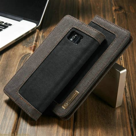 Samsung Galaxy S7 Edge Flipcase Magnetic Sliding Leather Flip for samsung galaxy s7 edge caseme magnetic denim canvas wallet stand for samsung s7