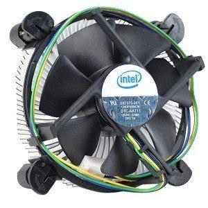 intel 775 cpu fan intel original lga775 cpu cooler aluminum support 65w cpu