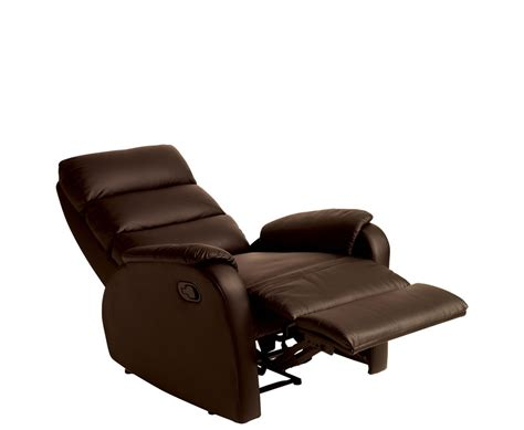 brown leather chair recliner riva rise recliner faux leather chair