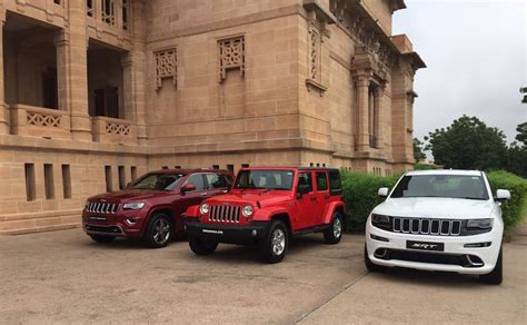 jeep india price list jeep grand cherokee and wrangler unlimited launched in