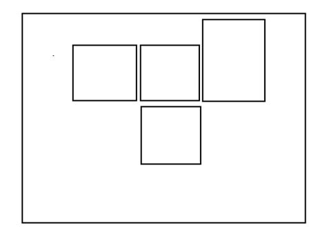 html css div horizontal layout html div horizontally align centered with stacking