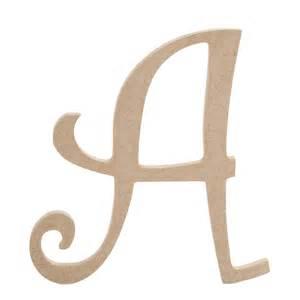wood letter templates 8 inch fancy script wood letters jo