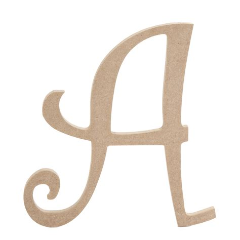 8 inch fancy script wood letters jo ann