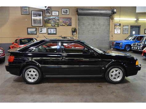 1991 Audi Coupe Quattro For Sale by 1991 Audi Quattro For Sale Classiccars Cc 971899